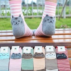 Super Cute Cat Socks